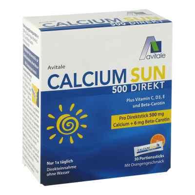 Calcium Sun 500 Direkt Portionssticks  bei deutscheinternetapotheke.de bestellen