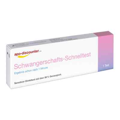 Schwangerschaftstest Schnelltest ab 25ie/l Urin  bei deutscheinternetapotheke.de bestellen