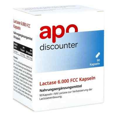 Lactase 6.000 Fcc Kapseln von apo-discounter  bei deutscheinternetapotheke.de bestellen