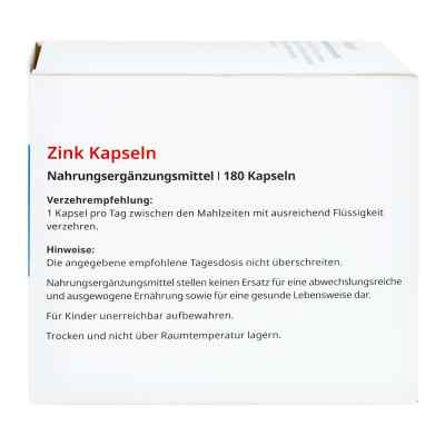 Zink Kapseln 15 mg von apo-discounter  bei deutscheinternetapotheke.de bestellen