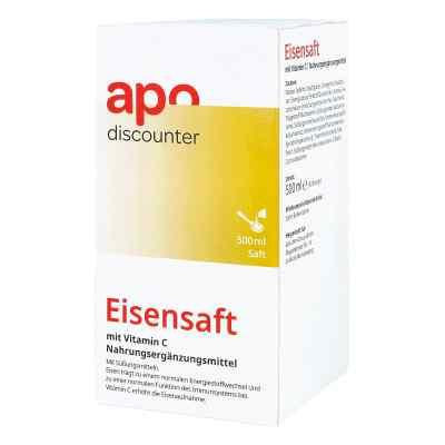 Eisensaft mit Vitamin C von apo-discounter  bei deutscheinternetapotheke.de bestellen