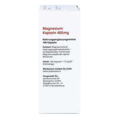 Magnesium Kapseln 400 mg von apo-discounter  bei deutscheinternetapotheke.de bestellen
