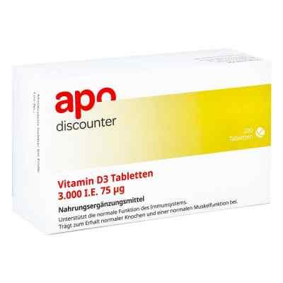 Vitamin D3 Tabletten 3000 I.e. 75 [my]g von apo-discounter  bei deutscheinternetapotheke.de bestellen