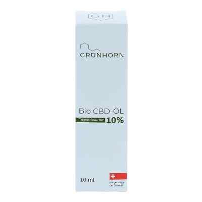 Grünhorn Bio Cbd-öl 10%  bei deutscheinternetapotheke.de bestellen