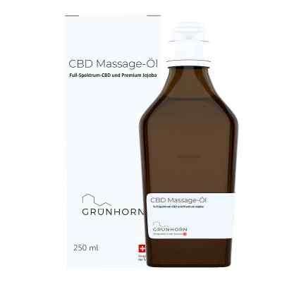 Grünhorn Cbd Massage-öl  bei deutscheinternetapotheke.de bestellen