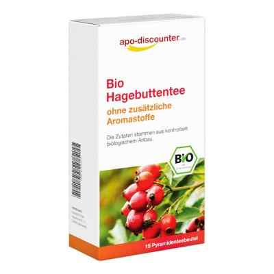 Bio Hagebutten Tee Filterbeutel von apo-discounter  bei deutscheinternetapotheke.de bestellen
