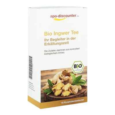 Bio Ingwer Tee Filterbeutel von apo-discounter  bei deutscheinternetapotheke.de bestellen