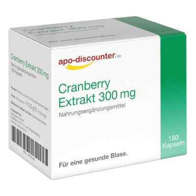 Cranberry Extrakt 300 mg Kapseln  bei deutscheinternetapotheke.de bestellen
