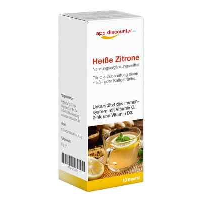 Heisse Zitrone Pulver Beutel  bei deutscheinternetapotheke.de bestellen