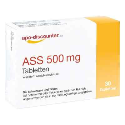 Ass 500 mg Tab apo-discounter  bei deutscheinternetapotheke.de bestellen