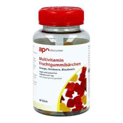 Gummibären Multivitamin vegan und zuckerfrei  bei deutscheinternetapotheke.de bestellen