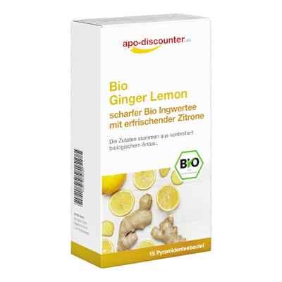 Bio Ginger Lemon Tee Filterbeutel von apo-discounter  bei deutscheinternetapotheke.de bestellen