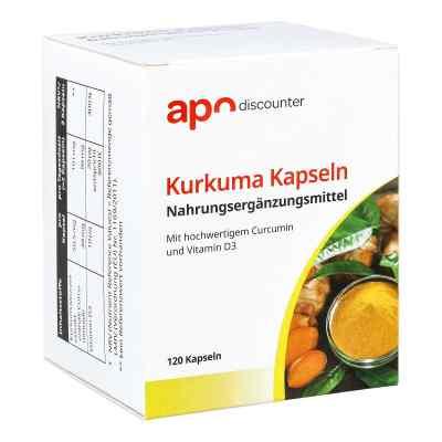Kurkuma Kapseln mit Curcumin von apo-discounter  bei deutscheinternetapotheke.de bestellen