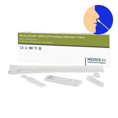Laientest Medicovid-ag Sars-cov-2 Antigen Selbsttest Nase  bei deutscheinternetapotheke.de bestellen