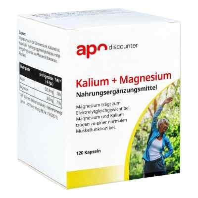Kalium + Magnesium Kapseln von apo-discounter  bei deutscheinternetapotheke.de bestellen