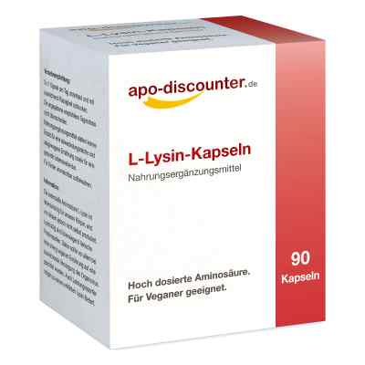 L-lysin Kapseln  bei deutscheinternetapotheke.de bestellen